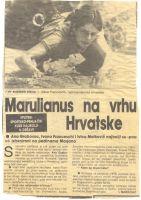 Marulianus na vrhu Hrvatske