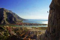 Ivica Franceschi u letu iznad Omiša, HPD Imotski, Babjača