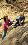 Bouldering podržaje obiteljski đir, obitelji vole bouldering!