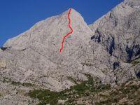 6b, 600m, Veliki Bukovac, Biokovo