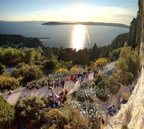 Šantine stine, Marjan - raj na zemlji! / Foto: BRAClimbing team
