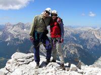 Visoko u Dolomitima 2005.