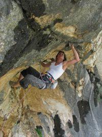 Keep on rockin in the free world (8a+), Markezina greda, prvi ženski uspon - novi level u domovini golden standarda! / 29.05.2009.