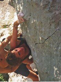 Počeci početaka, Sandra u boulderu Nada (Fb6a)