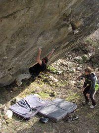 Još jedan veliki dalmatinski boulder projekt. Išlo ga je dobro sve dok nije pukla ključna polica...