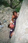Rani bouldering u kanjonu Pakle.